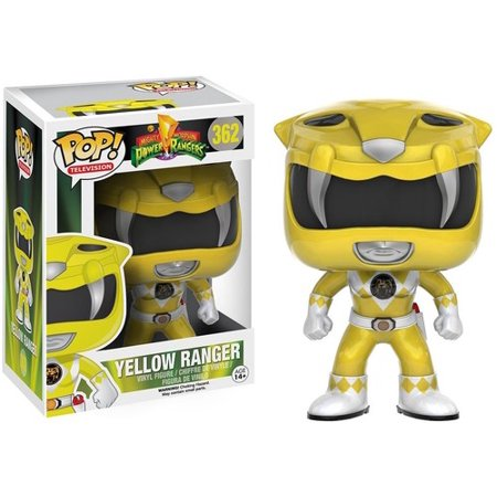 - FUNKO POP! TELEVISION: POWER RANGERS - YELLOW RANGER