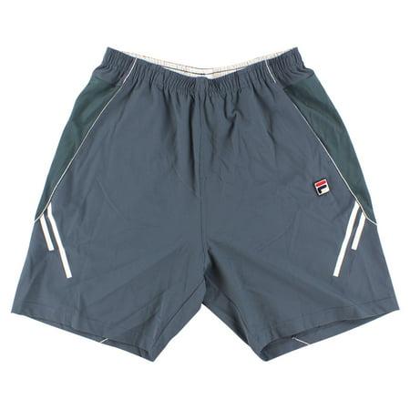 Fila Mens Collezione Shorts Dark Grey
