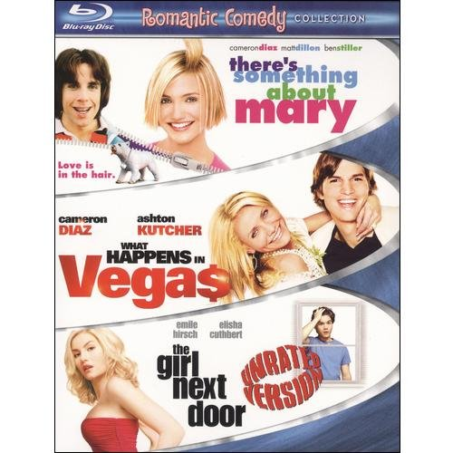 Romantic Comedy 3-Pack: There's Something About Mary / What Happens In Vegas / The Girl Next Door (Blu-ray) (Widescreen)
