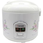 Tatung TRC-10DC 10 Cups Direct Heating Cooker, White