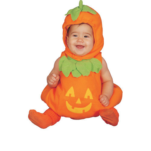 Dress Up America Baby Pumpkin Costume Set