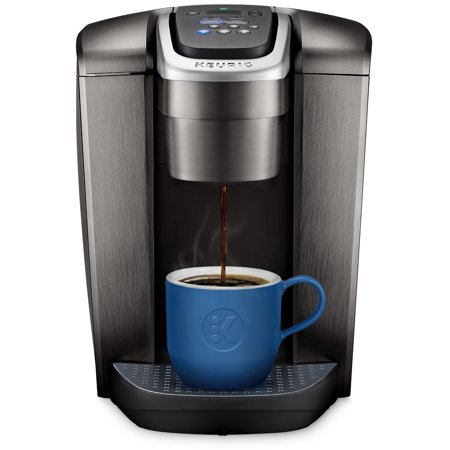Keurig K Elite Single Serve Cup Pod Coffee Maker With Iced Setting Strength Control And Hot Water On Demand Brushed Slate