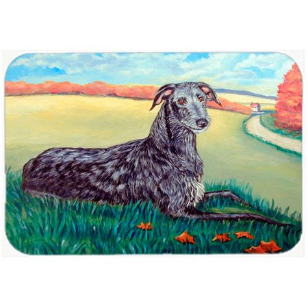 Caroline's Treasures Scottish Deerhound Kitchen/Bath Mat
