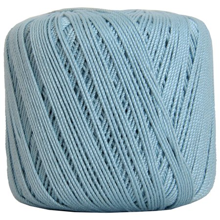- Threadart Crochet Thread - SIZE 3 - Color 19 - LT BLUE- 50 gram balls 140 yds