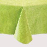"""Mainstays Linen Print Vinyl Tablecloth, Lime, 60""""x84"""""""