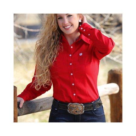 ae5c4162 Cinch - Cinch Women's Solid Button Down Western Shirt - Msw9164032 ...