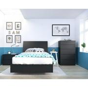 Bedroom Sets Black. Corbo Bedroom Bundle Includes Items From Nexera Finish Black Sets  Walmart com