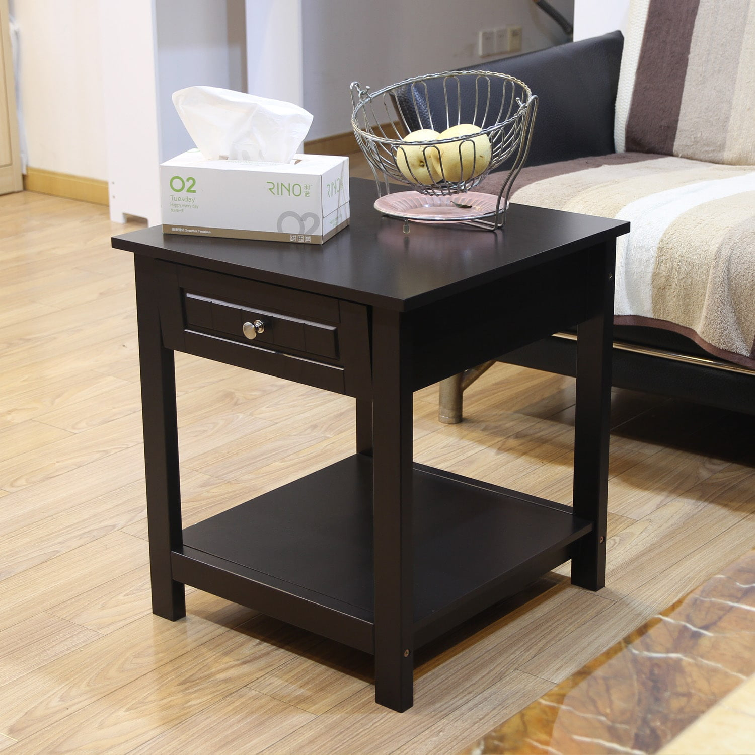 Click here to buy Adeco Accent Drawer End Table by Adeco Trading.