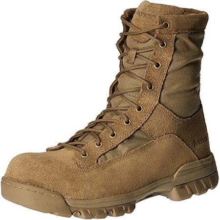 Bates Men's Ranger II Hot Weather Composite Toe Military & Tactical Boot, Coyote, 12 M US