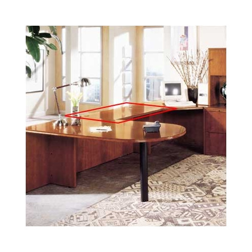 High Point Furniture Forte Office 29'' H x 48'' W Desk Bridge