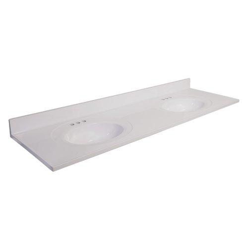 Design House 73'' Double Bathroom Vanity Top