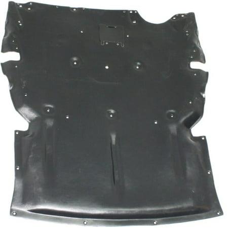 For BMW 320i Front Engine Splash Shield 2012-2018 Under Cover | w/o Insulation Foam | RWD | Sedan | BM1228172 | 51757241814