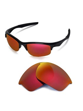 c707f2754a Product Image Walleva Fire Red Polarized Replacement Lenses for Oakley  Bottle Rocktet Sunglasses