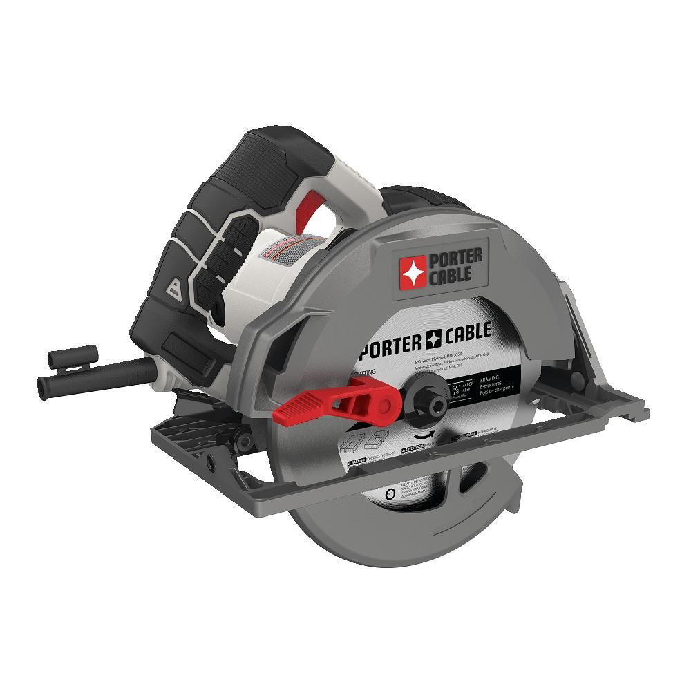 Factory-Reconditioned Porter-Cable PCE310R 15 Amp 7-1/4 in. Heavy-Duty Magnesium Shoe Circular Saw (Refurbished)