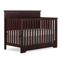Slumber Baby Morgan 5 in 1 Convertible Crib, Cherry