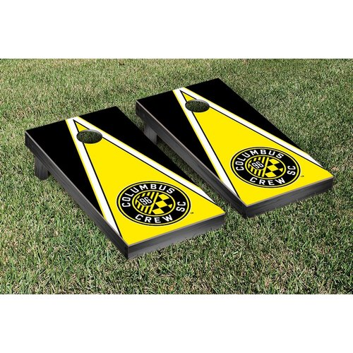 Victory Tailgate MLS Triangle Version Cornhole Game Set