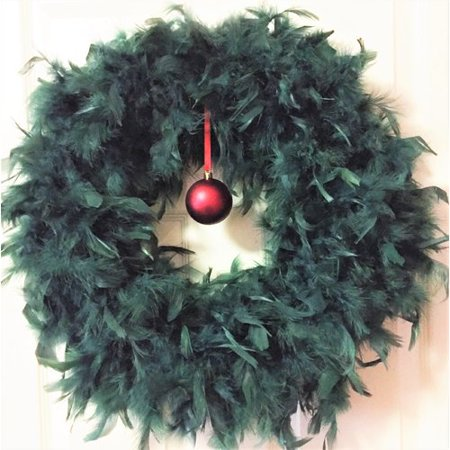 Feather Wreath (The Holiday Aisle 23'' Feather)