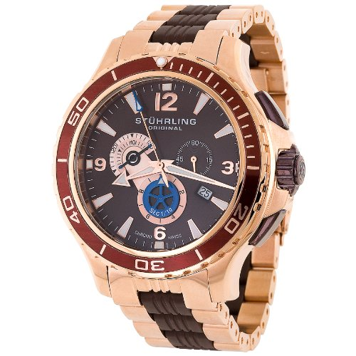 Stuhrling 270 332K759 Men's Exclusive Trekker Sportsman Swiss Chronograph Watch