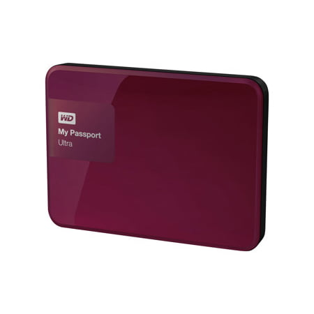 WD 3TB My Passport Ultra Portable Hard Drive Berry -