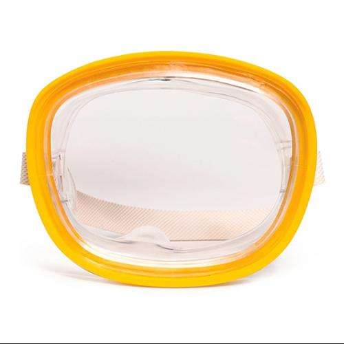 """5.25"""" Catalina Yellow Clear Mask Swimming Pool Accessory for Kids by Swim Central"""
