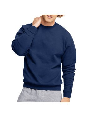 41b0fea26bd Product Image Big Men s Ecosmart Medium Weight Fleece Crew Neck Sweatshirt