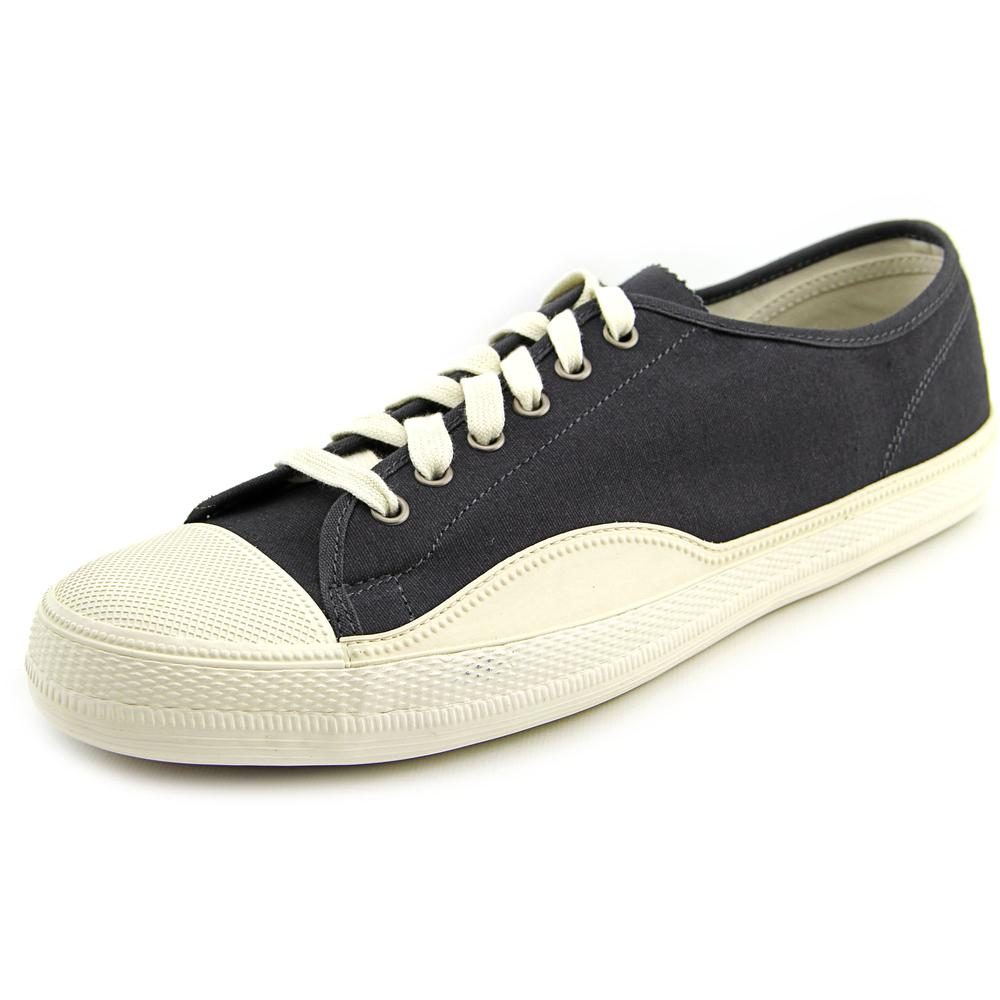 Tretorn Racket H Low Men Canvas Black Fashion Sneakers by Tretorn