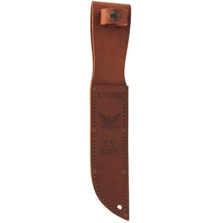 Ka-Bar Leather Sheath Cocobolo Wood Leather Sheath