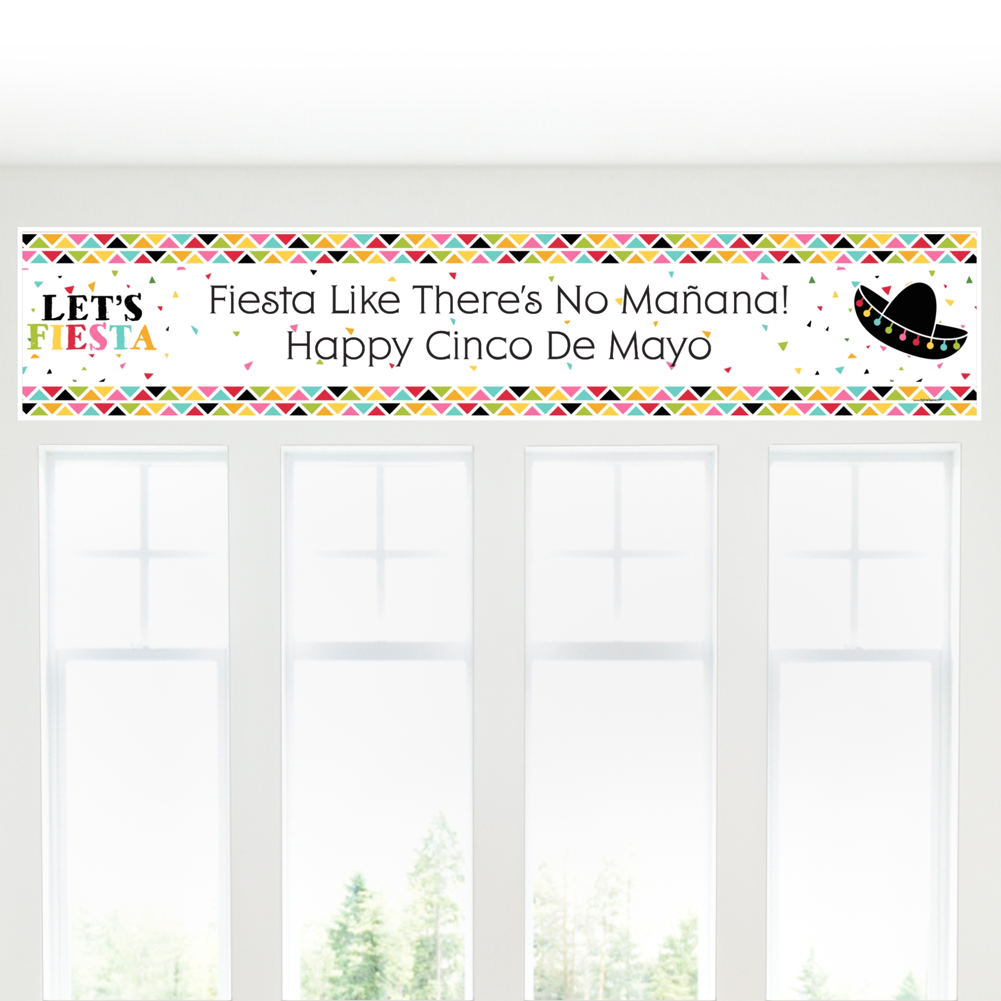 Cinco de Mayo - Mexican Fiesta Party Banner