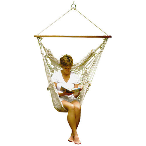 Algoma 6817 Hanging Cotton Rope Chair