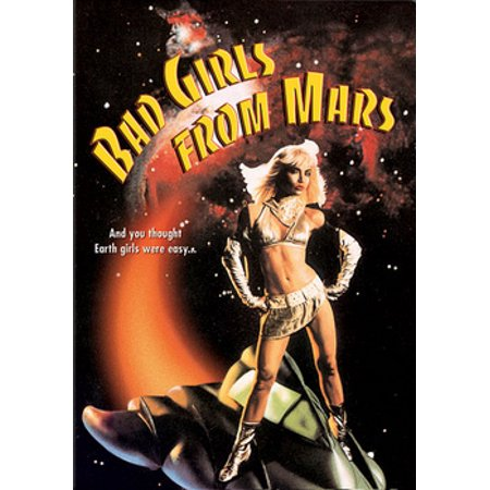 Bad Girls From Mars (DVD)