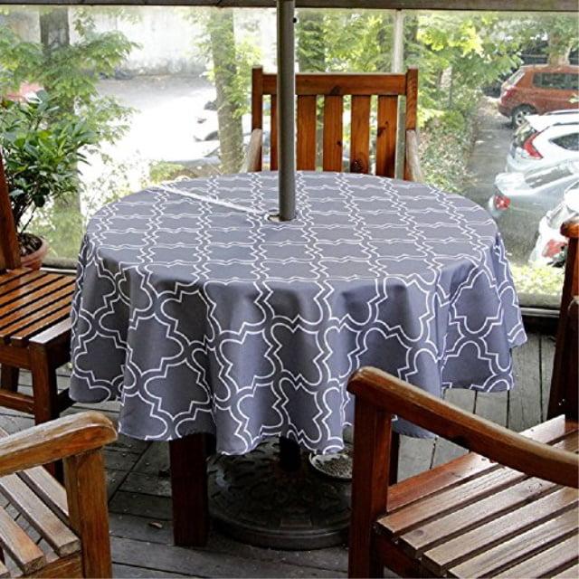 Patio Outdoor Umbrella Tablecloth