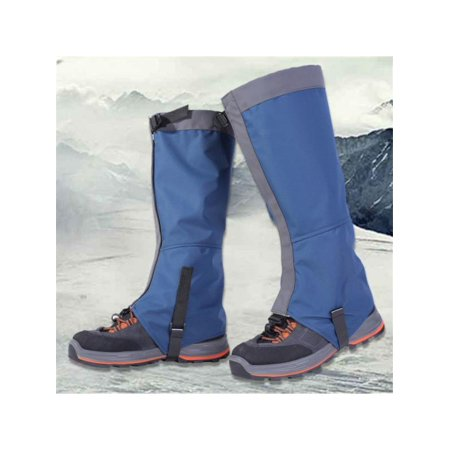MarinaVida Mountain Hiking Hunting Boot Gaiters Waterproof Snow Snake High Leg Shoes Cover (Motorcycle Gaiters)