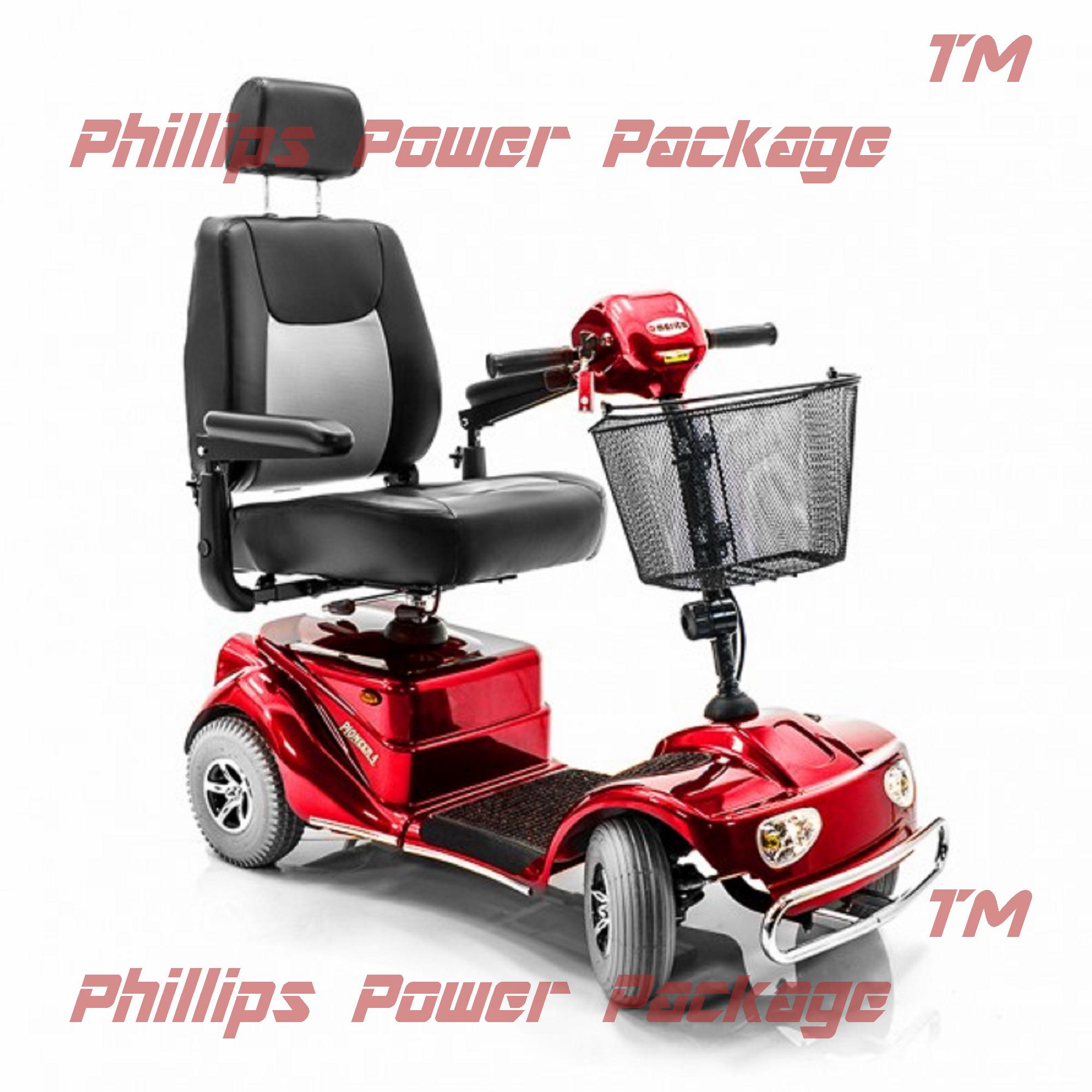 Merits Health Products - Pioneer 4 - 4-Wheel Midi Electri...