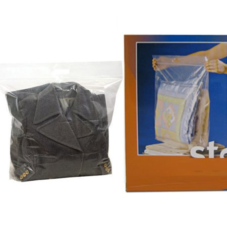 5 Poly Bags Xxl Extra Large Plastic 24x20 Heavy Duty