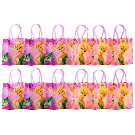Disney Tinker Bell Party Favor Goodie Gift Bag - 6