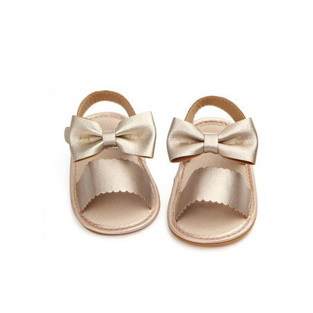 671e0a04a5c Lavaport - Lavaport Newborn Baby Girl Summer Sandals Anti-slip Prewalker  Kids Soft Sole Crib Shoes 0-18M - Walmart.com