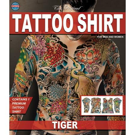 Tinsley Transfers Tiger Tattoo FX Shirt, Small/Medium](Fx Transfers Halloween)