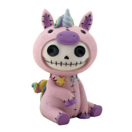 Furry Bones Unie Unicorn Pink Figurine, Perfect gift for those that love Furry Bones By YTC](Unicorn Furry)