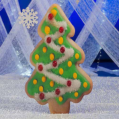 Christmas Cookie Tree Standee