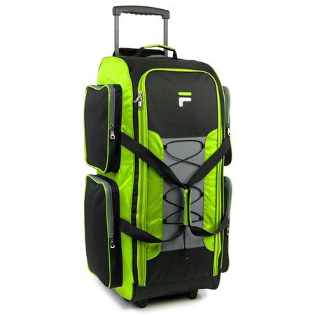 Lightweight Rolling Tote - Fila  32-inch Lightweight Rolling Duffel Bag