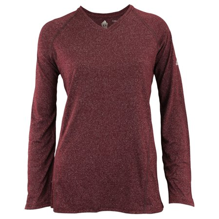 Adidas Women's Climalite Performance Long Sleeve Tee, Color Options Adidas Climalite Long Sleeve Jersey