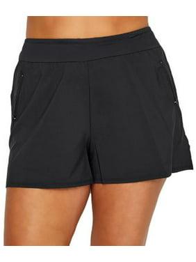 Beach House Womens Plus Size Paloma Swim Shorts Style-HW58102
