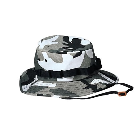- City Camo Jungle Hat, Available in 6 sizes