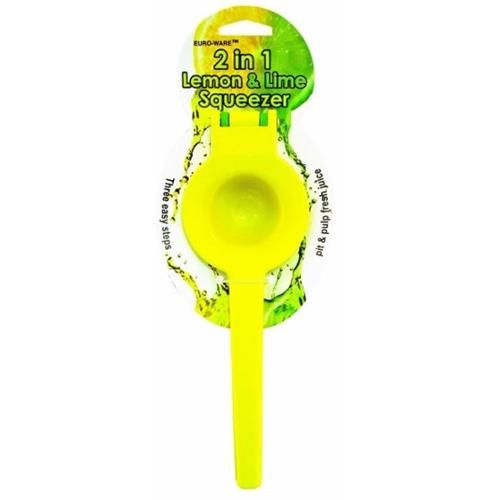 Bulk Buys 2-In-1 Lemon & Lime Squeezer - Case of 36