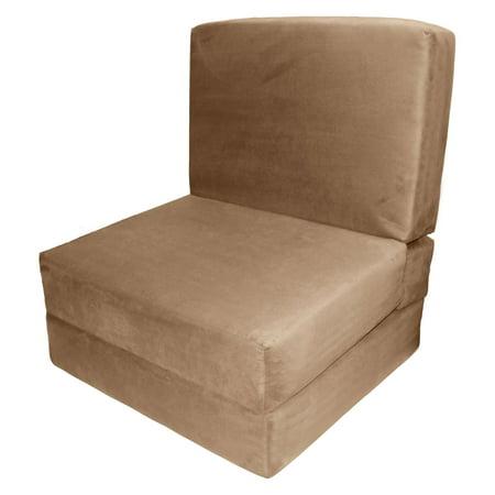 Epic Home Furnishings Studio Flip Foldable Chair Sleeper Bed