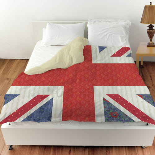 Manual Woodworkers & Weavers Mini Print Union Duvet Cover
