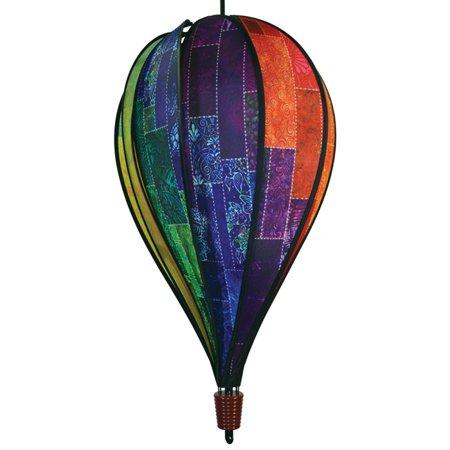 In The Breeze Batik Quilt 10 Panel Hot Air Balloon Spinner](Halloween Hot Air Balloon Spinners)
