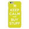 Apple iPhone 6+ (Plus) Custom Case White Plastic Snap On - Keep Calm and Buy Stuff  Add to Cart  Online Shopping Easy access to all buttons and ports!