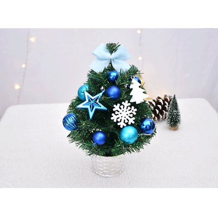 artificial tabletop mini christmas tree decorations festival miniature tree