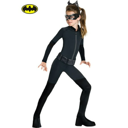 Batman the Dark Knight - Catwomen Child Costume](Diy Batman Costume Kids)